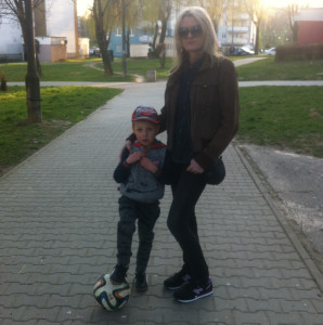 Justyna Cygal-mama Bartka