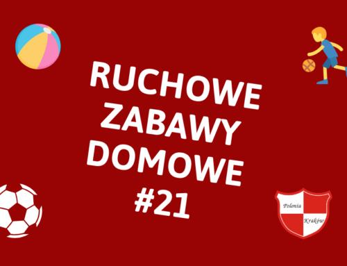 RUCHOWE ZABAWY DOMOWE #21 – ZAPARKUJ PIŁKĘ W WYZNACZONYM MIEJSCU