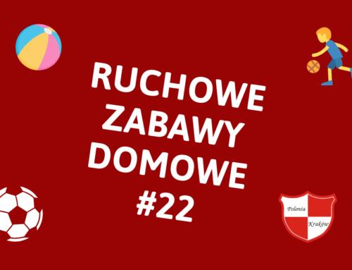 RUCHOWE ZABAWY DOMOWE #22 – WYKONAJ ZADANIE
