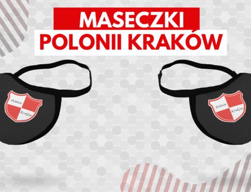 Kup maseczkę Polonii Kraków!