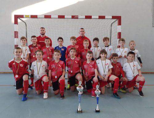 Orliki Młodsze (r. 2011) podwójny sukces w Jurajski Winter Cup.