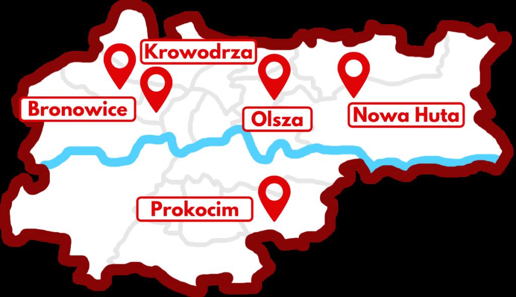 gdzie trenujemy Polonia Kraków